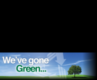 We've gone green!